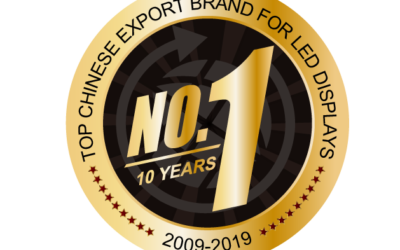 Absen celebrates 10 consecutive years as #1 Chinese LED exporter during ISE